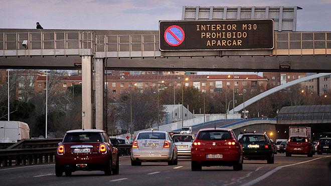 restricciones a la entrada de vehículos en Madrid