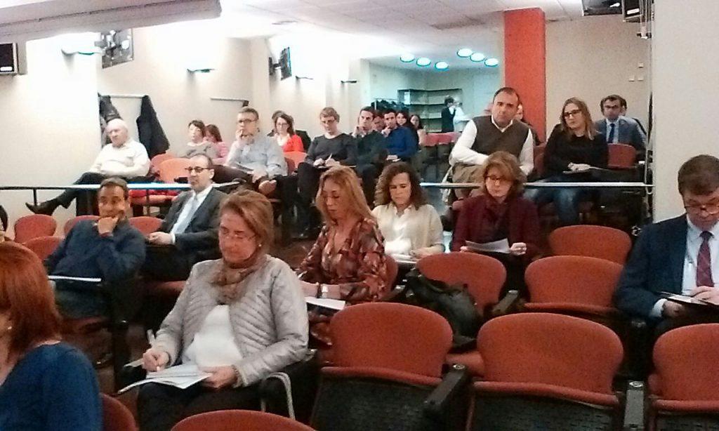 asistencia a conferencia de AparCar con el CAFBL y el ICAEN